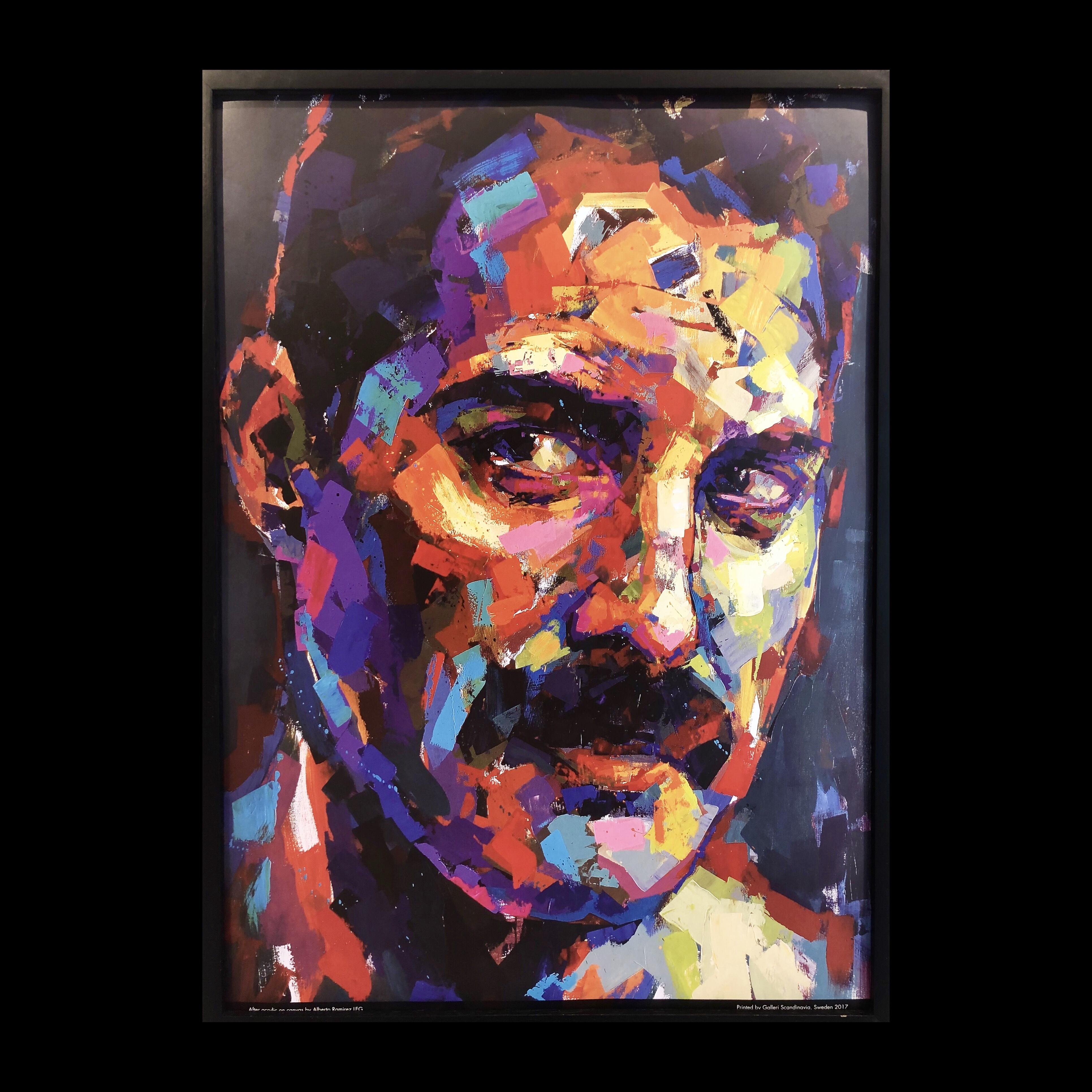 """""""Freddie Mercury"""" - Limited Edition Poster by LEG. 50x70 cm"""
