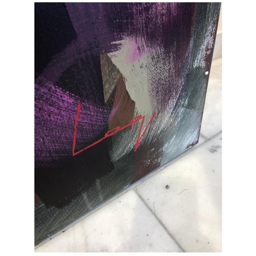 """Björn Borg"" Akryl av Alberto Ramirez LEG. 200 x 140 cm"