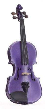 Stentor Harlequin 1401 3/4 Violin Purple