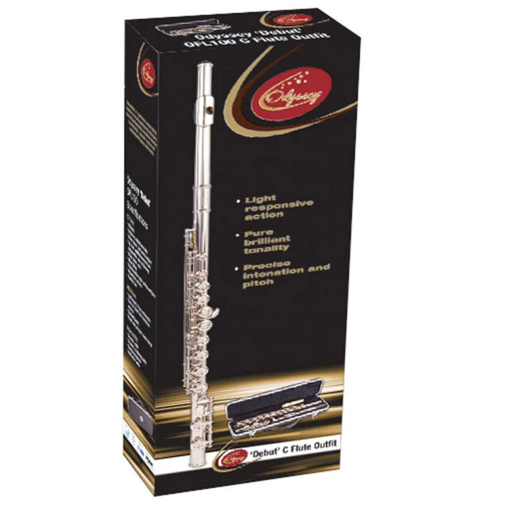 Odyssey Debut C Flute Outfit