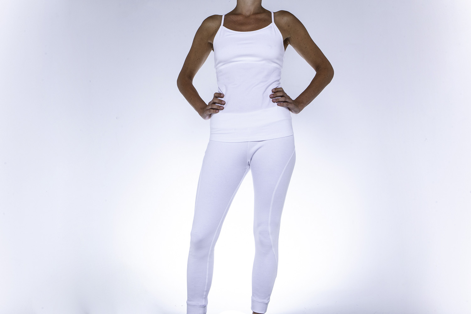 Wellicious - Curvve 7/8 - Tights White