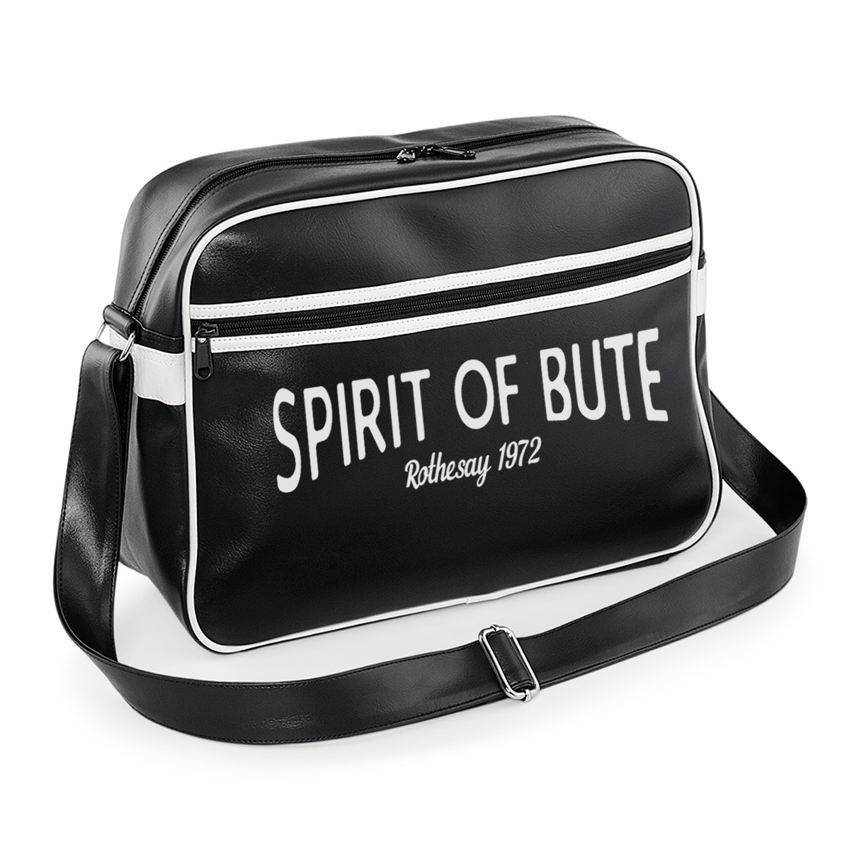 Retro Spirit of Bute Messenger Bags