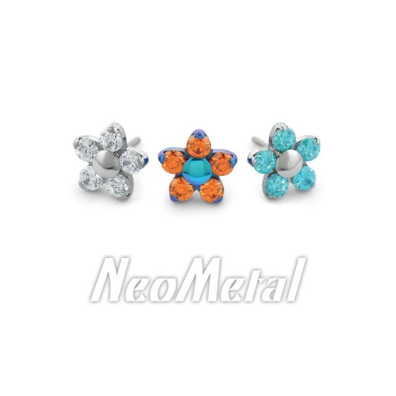 NeoMetal Titan Blume Artic Blue CZ
