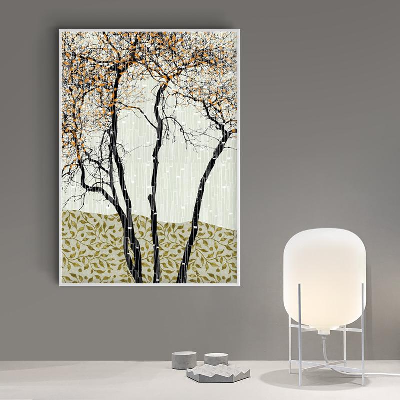 Oliven selje, A1 59,4x84cm