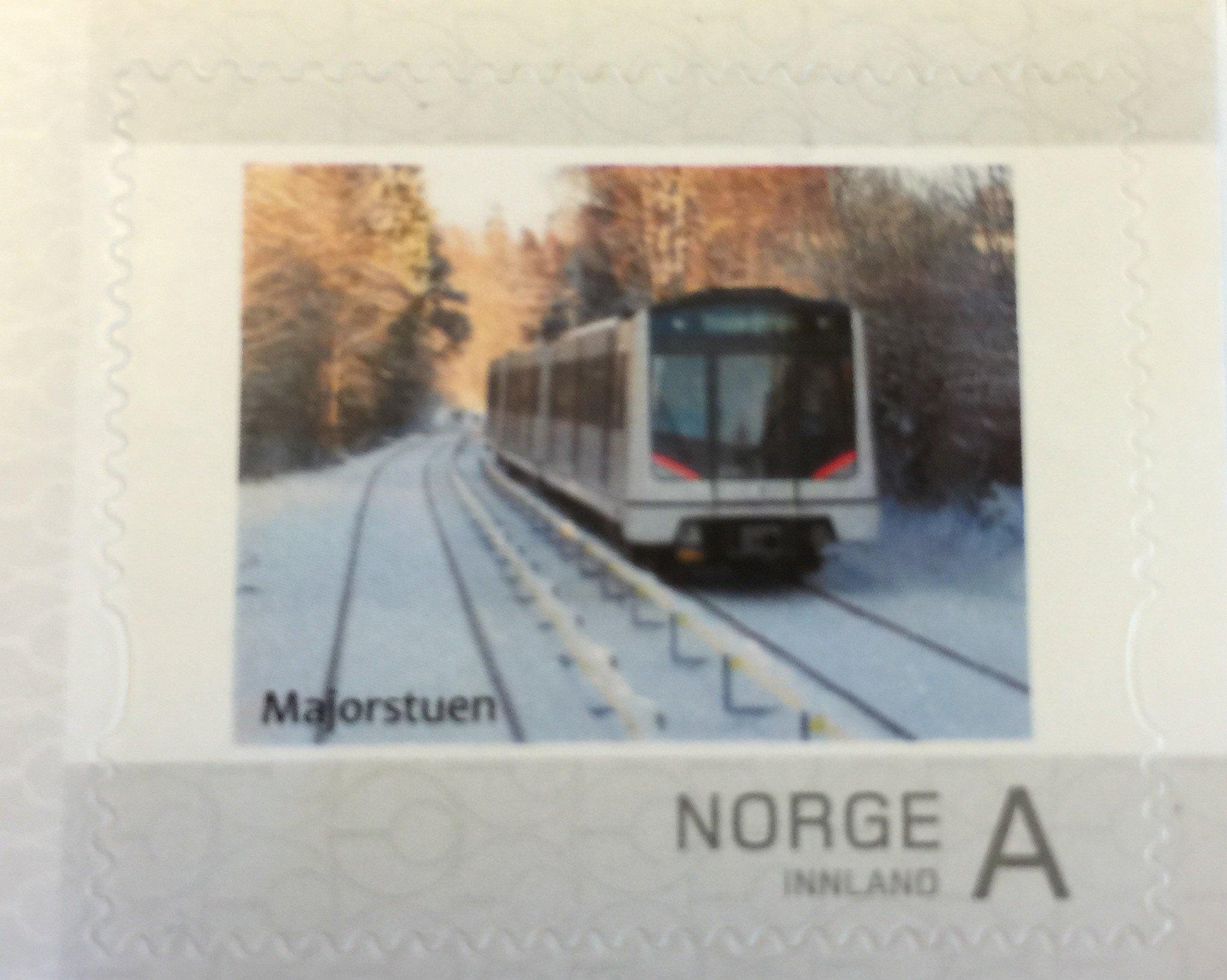 Frimerke Holmenkollbanen
