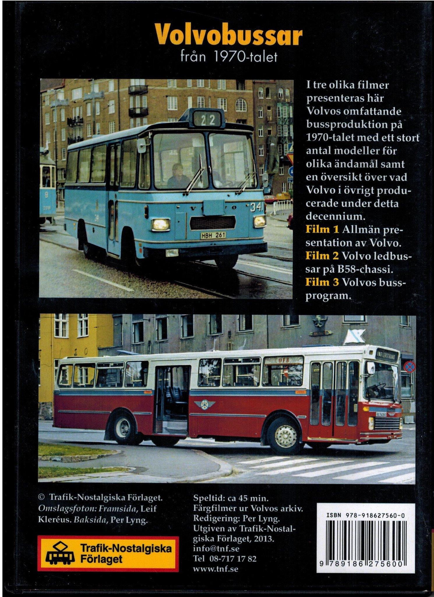 Volvobussar från 1970-talet
