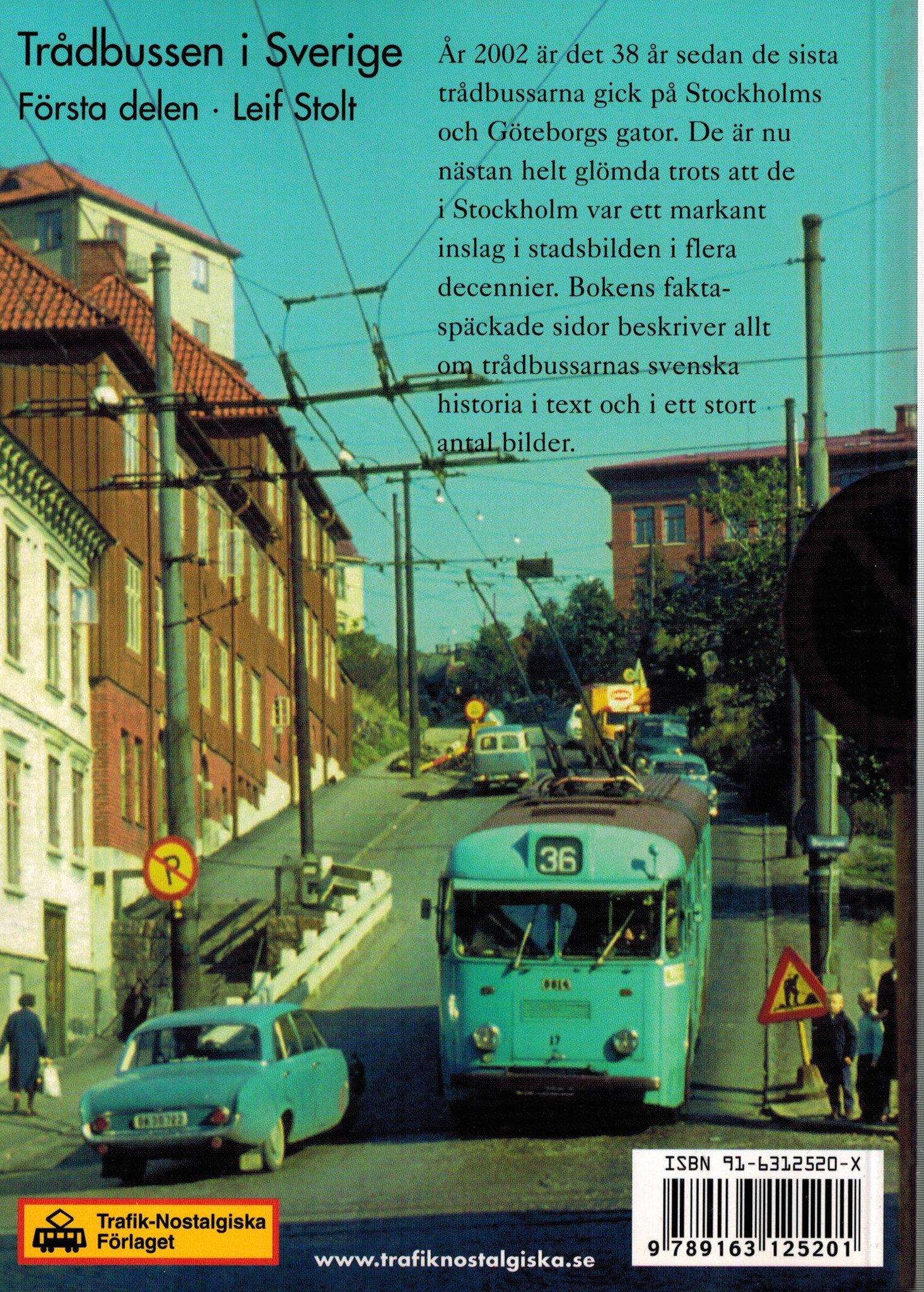 Trådbussen i Sverige