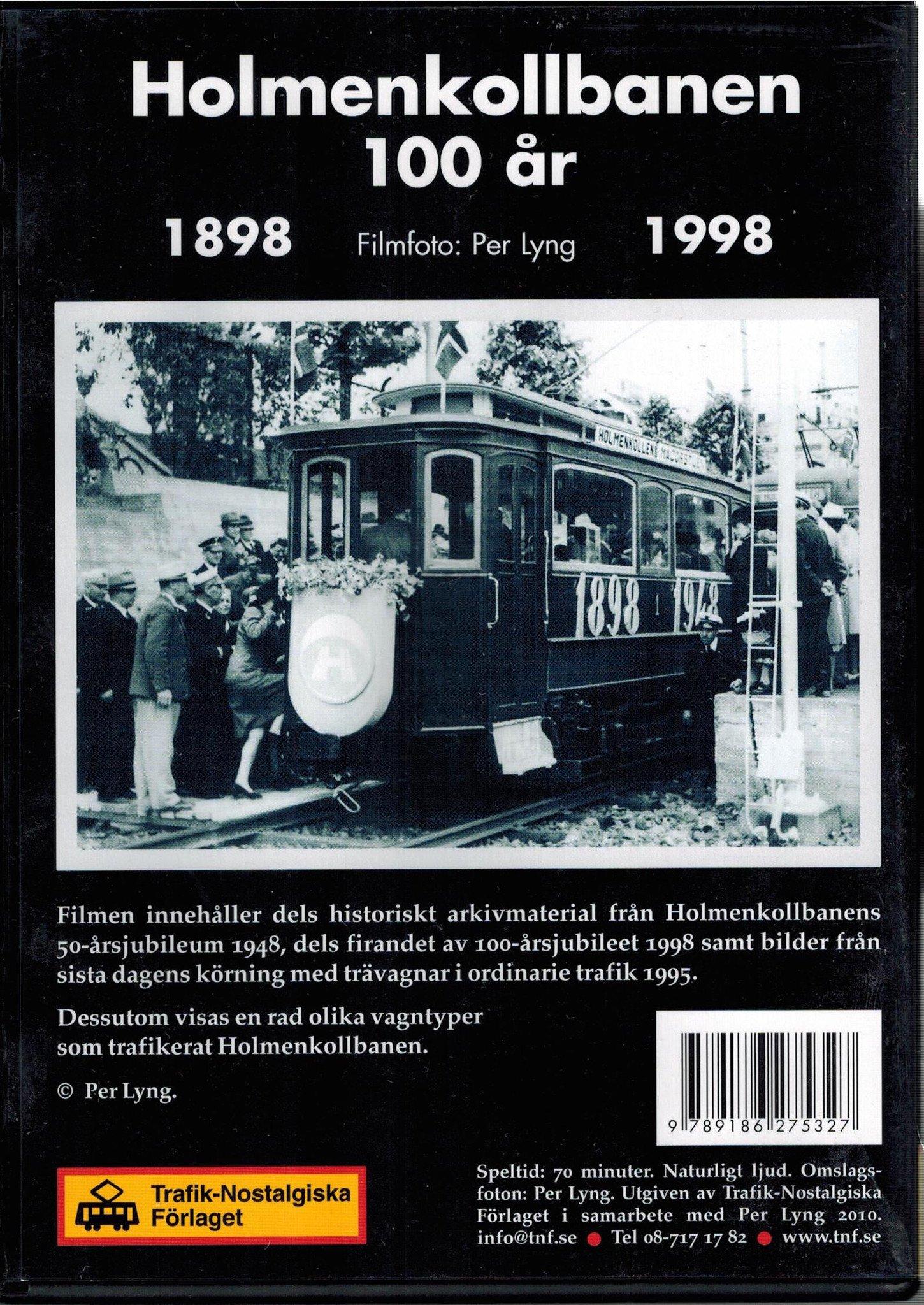 Holmenkollbanen 100 år 1898 - 1998