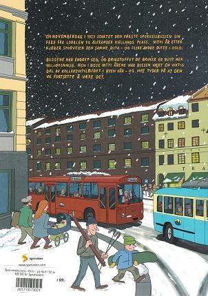 Sporveisbussen i Oslo - på hjul i 90 år