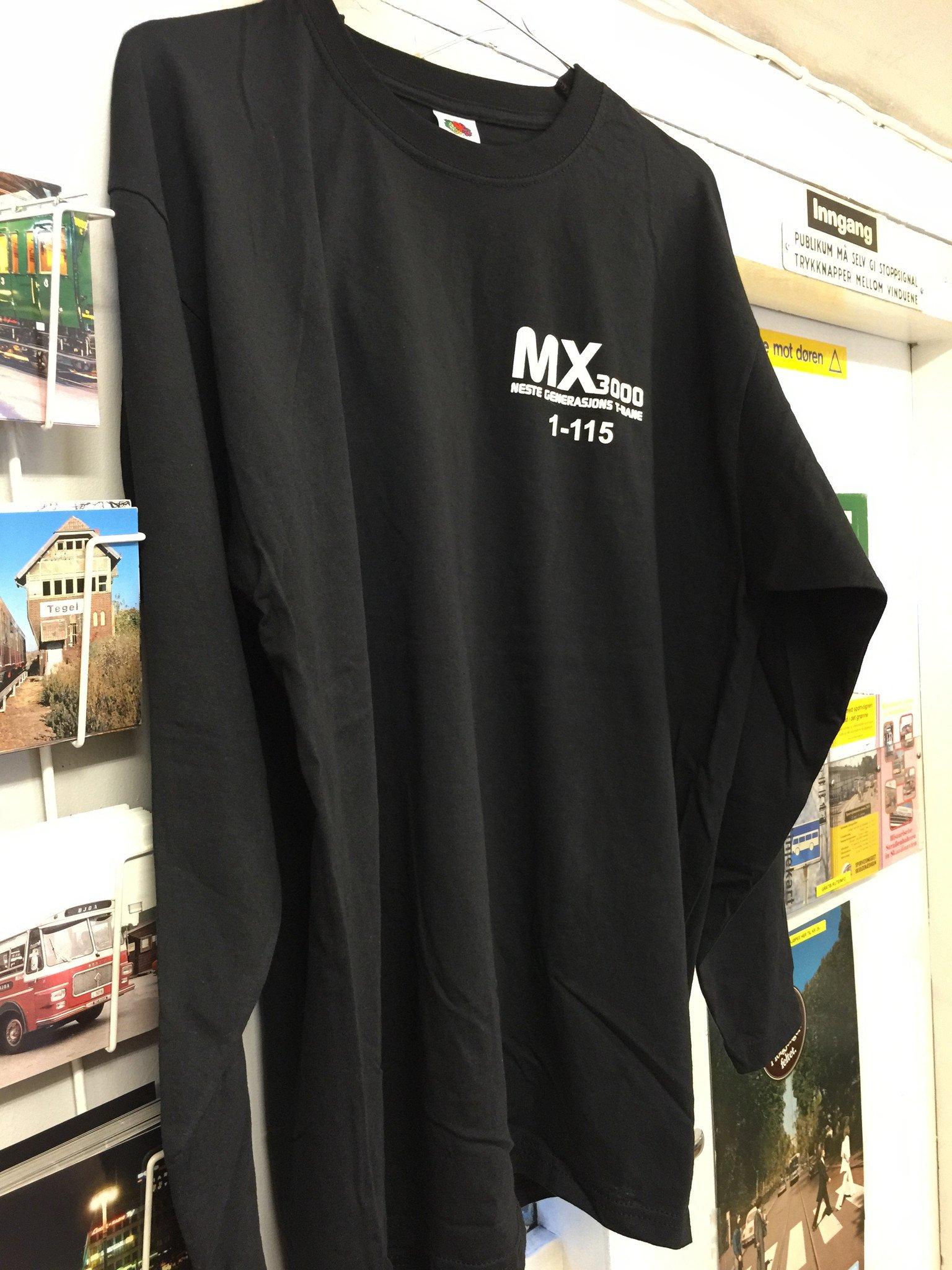 T-skjorte, MX3000
