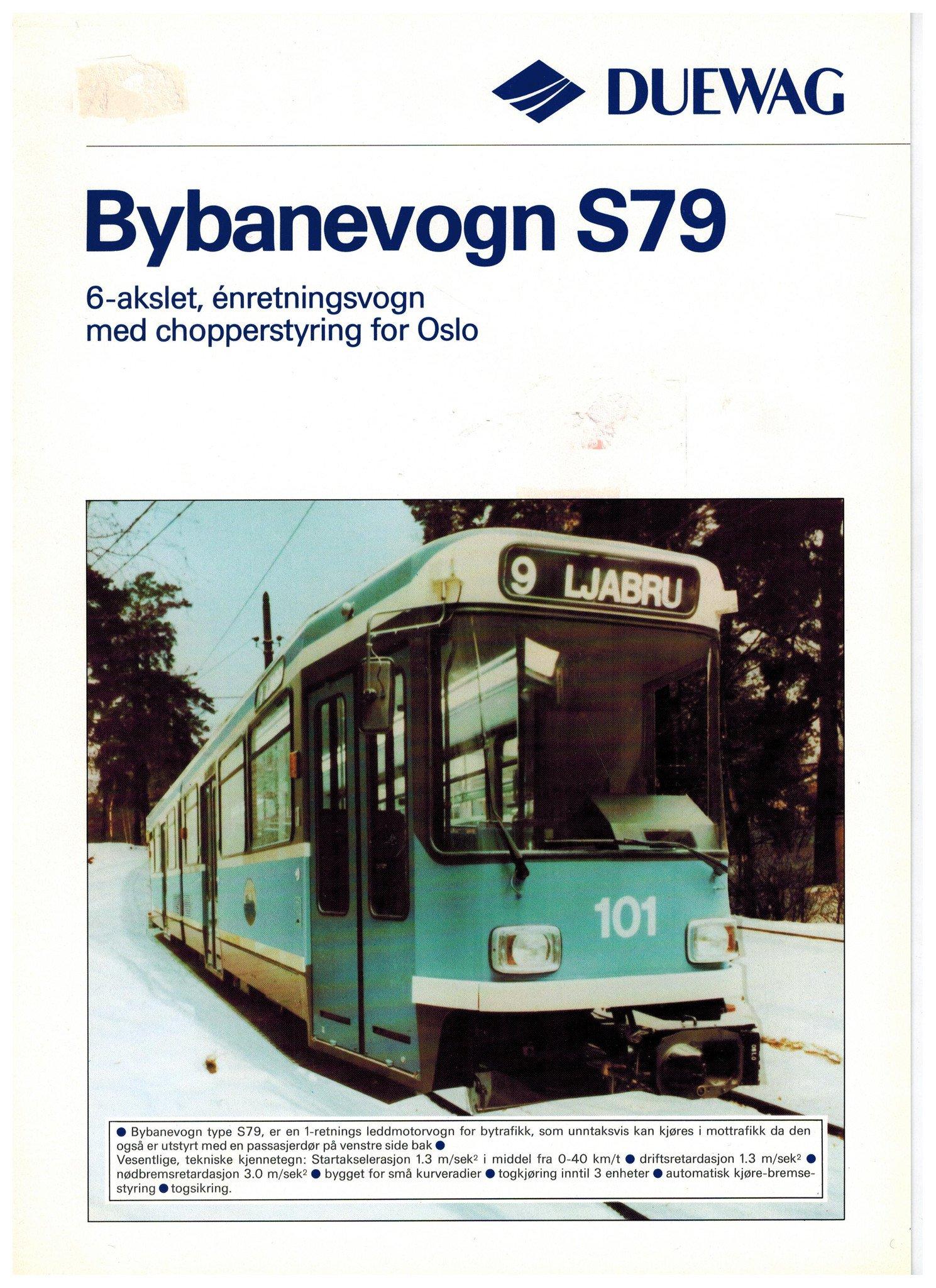 Bybanevogn S79
