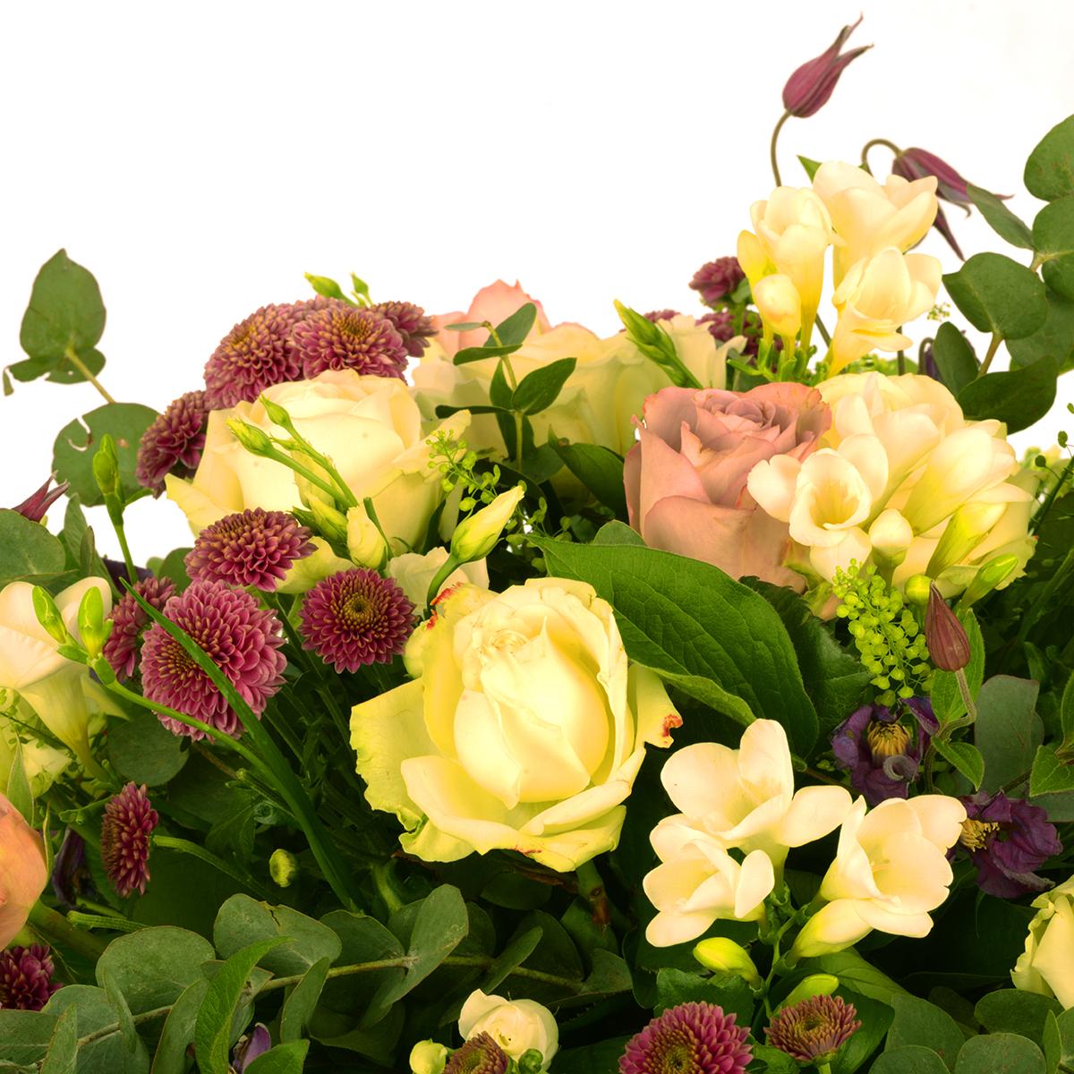 Floristens val - Låg rund