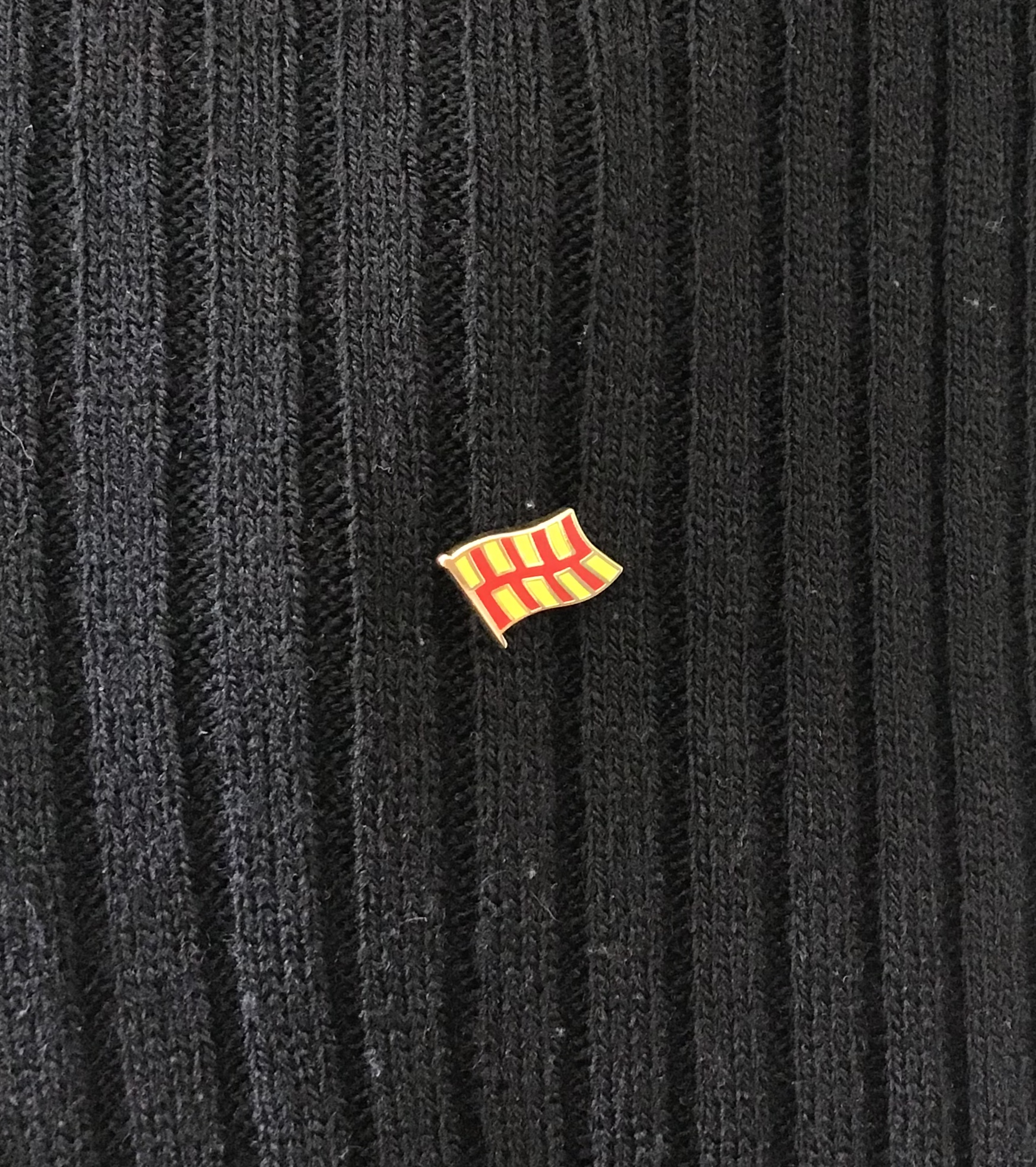Northumberland Flag Pin Badge
