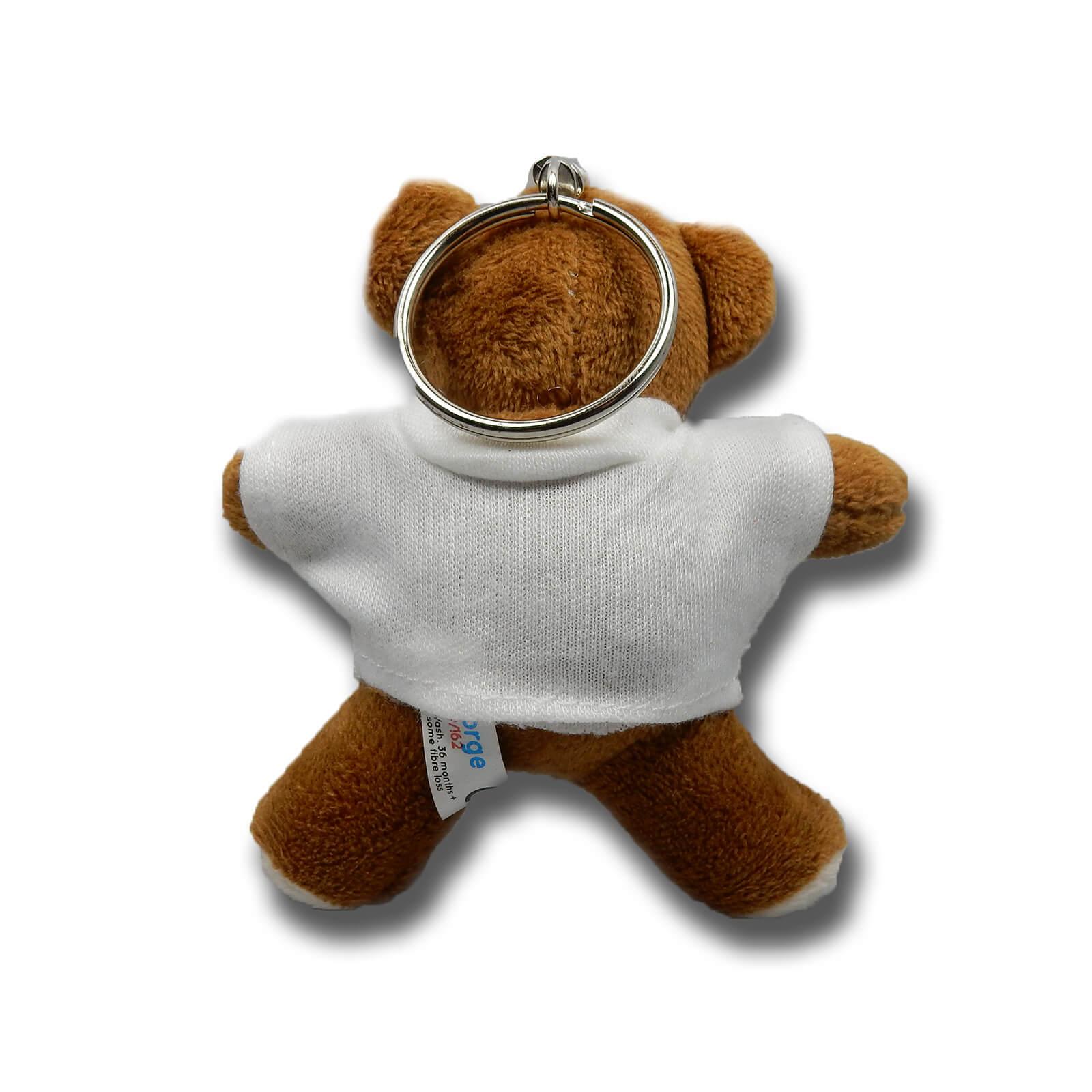 Geordie Bear Keyring