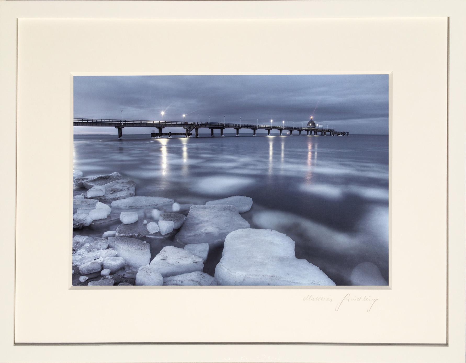 """Edition Galerie Usedomfotos """"Eisschollen an der Ostsee"""""""