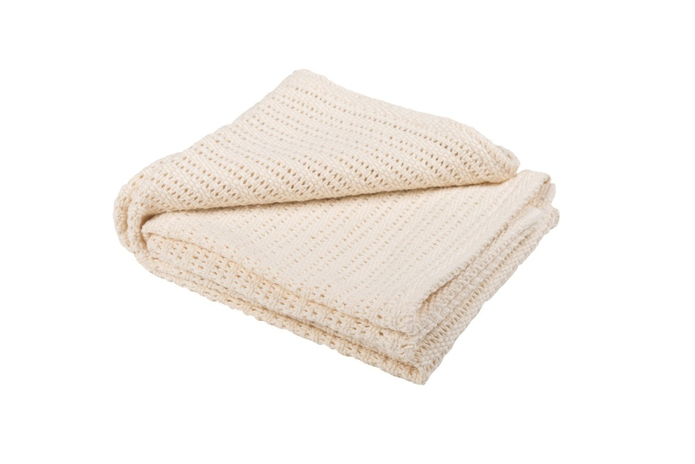 Abeille Cellular blanket - Bufftail (Cream)