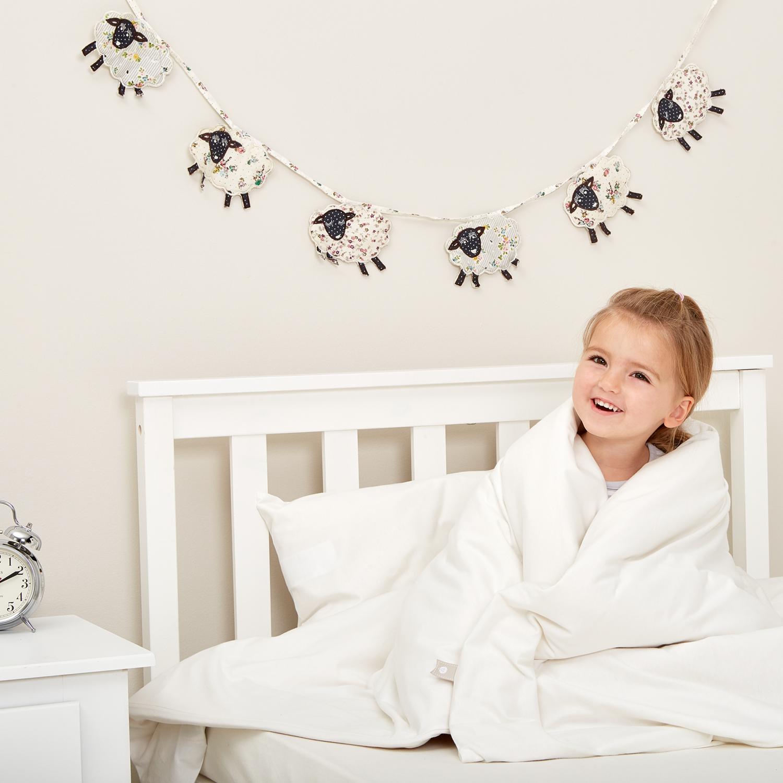 The Little Green Sheep Organic Cot Bed Duvet 120x150cm - 4 tog