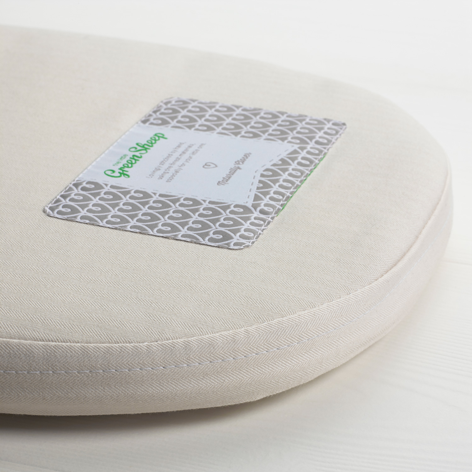 The Little Green Sheep Natural Carrycot Mattress - To Fit Bugaboo Bee3 Only