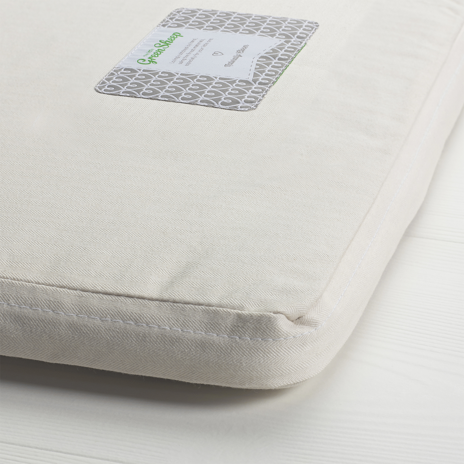The Little Green Sheep Natural Crib Mattress - To Fit Next2me 83x50cm Only