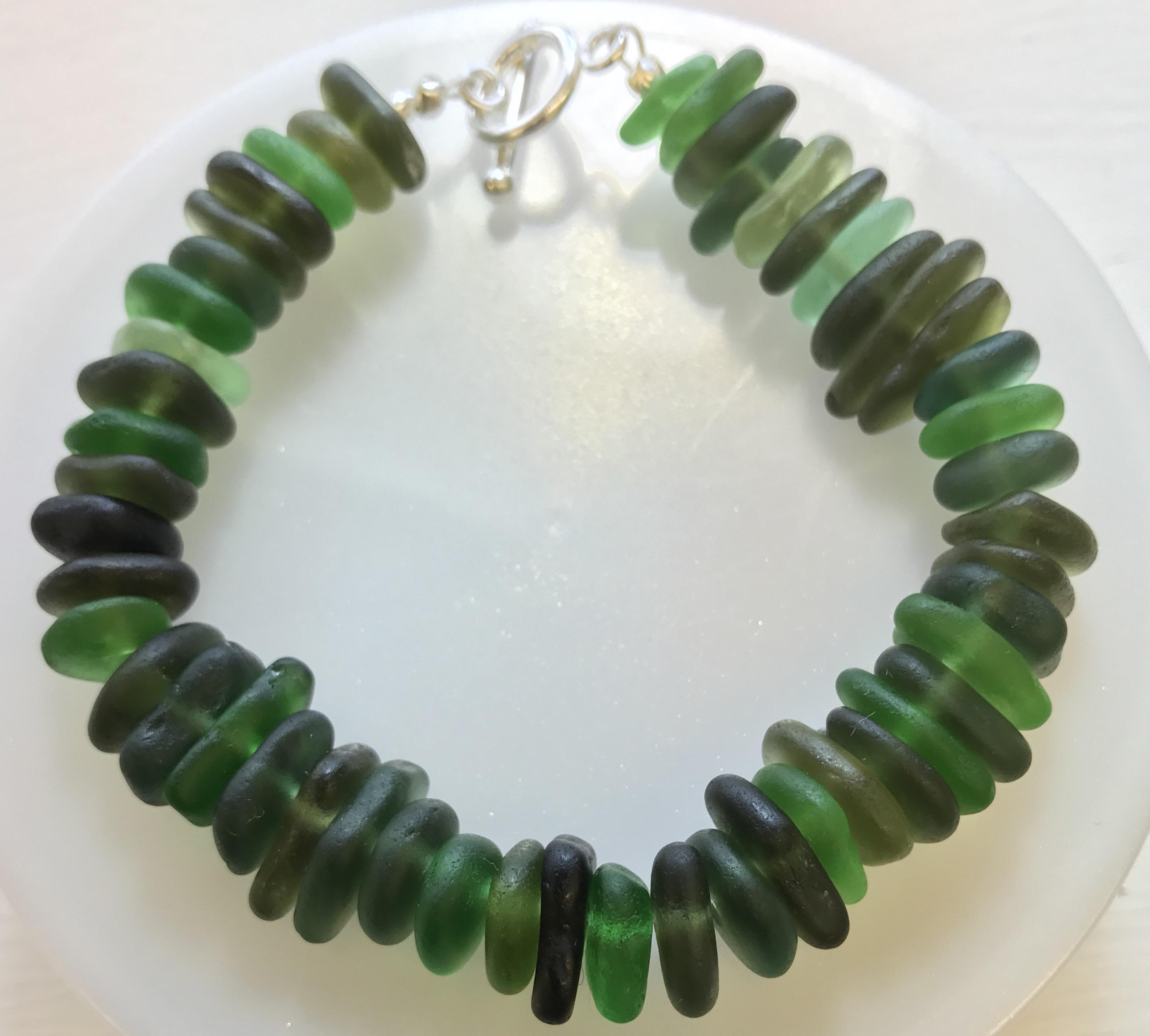 Sea Glass Green Bracelet