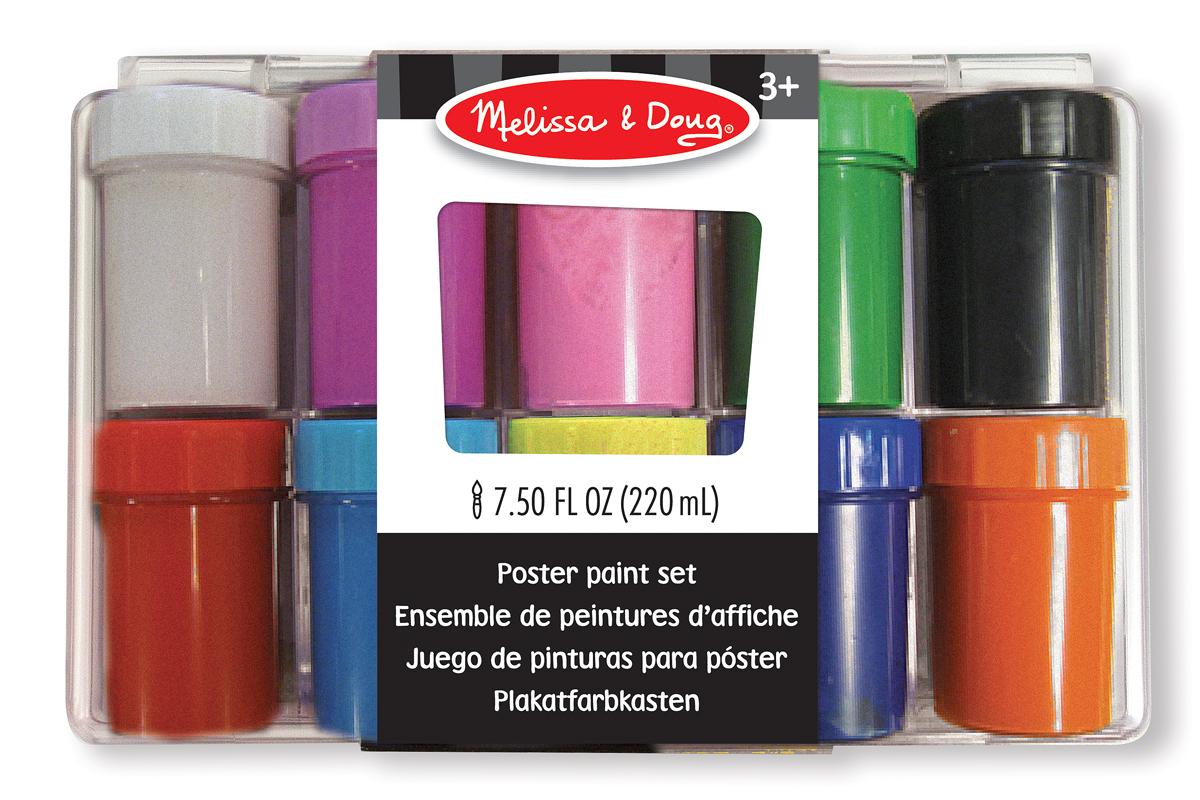 Deluxe Poster Paint Set (10 colours)