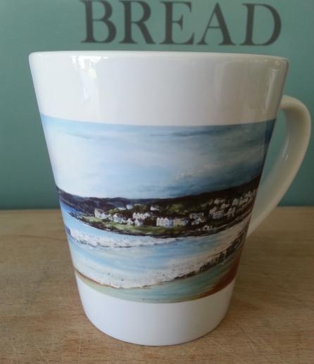 Mug. Woolacombe latte style mugs