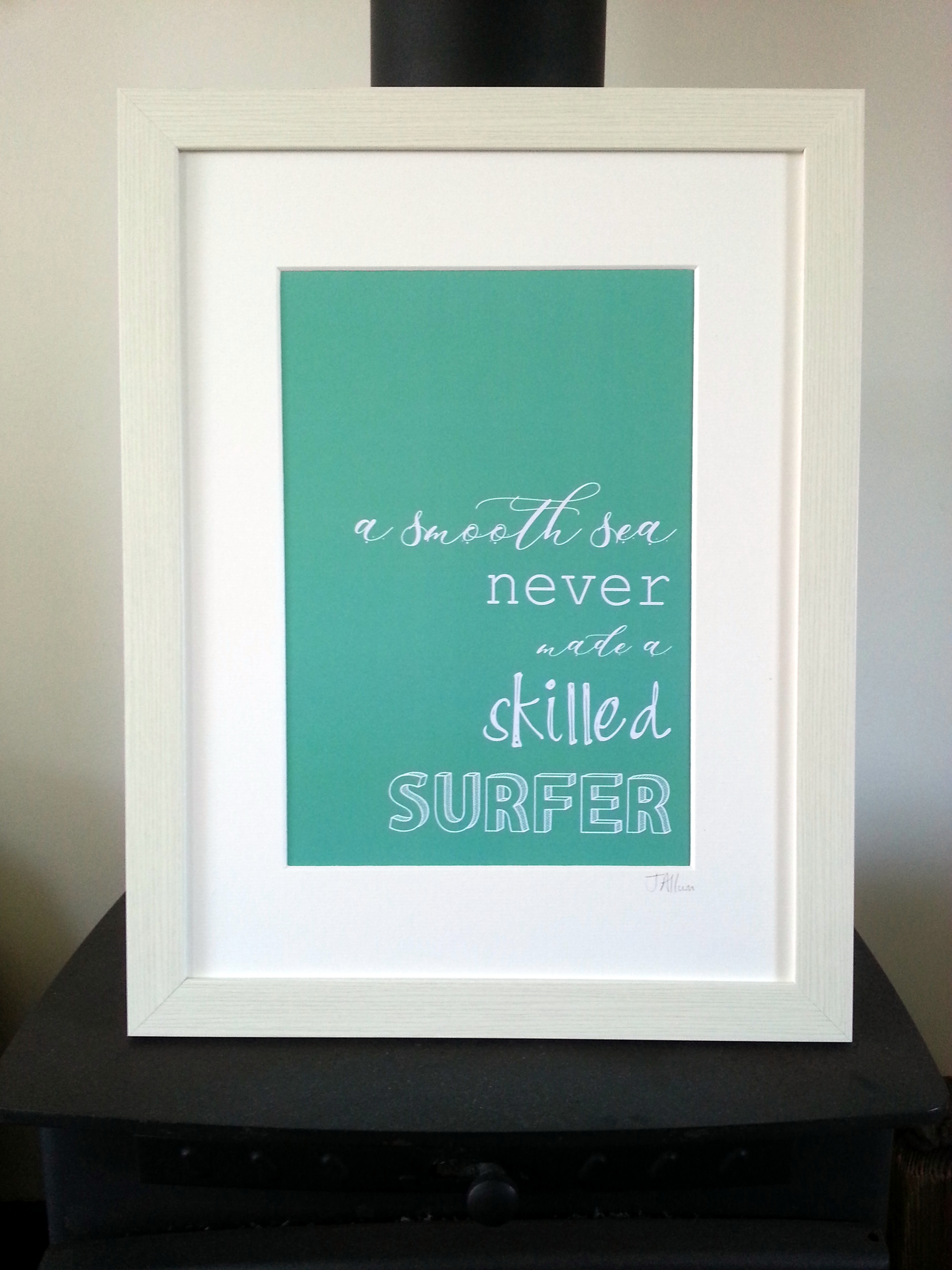 A smooth sea never made a skilled surfer